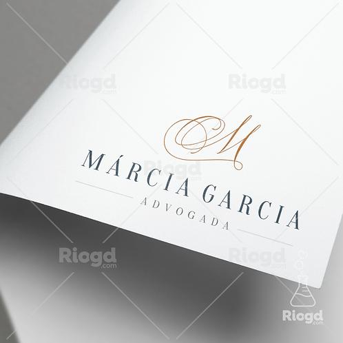 Logotipo Personalizado para Advogados Elegance Milão