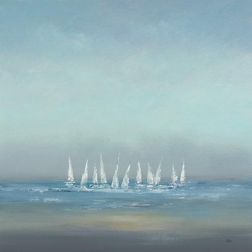 Setting Sail by Lisa Ridgers 40x40cm