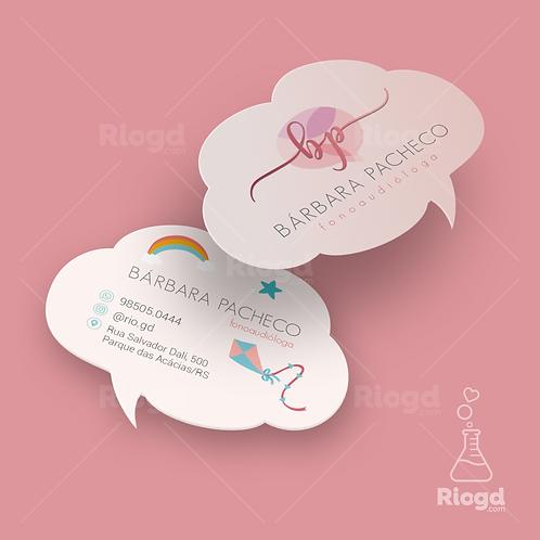 Cartões de Visita Impressos - Coleção Parle