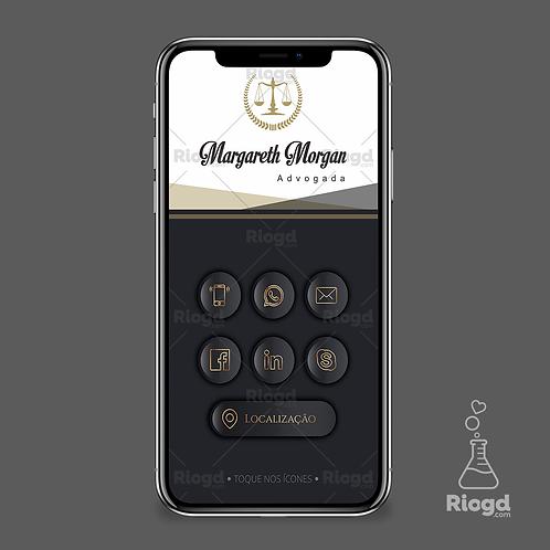 Cartão Digital Personalizado para Advogados Noble Prime