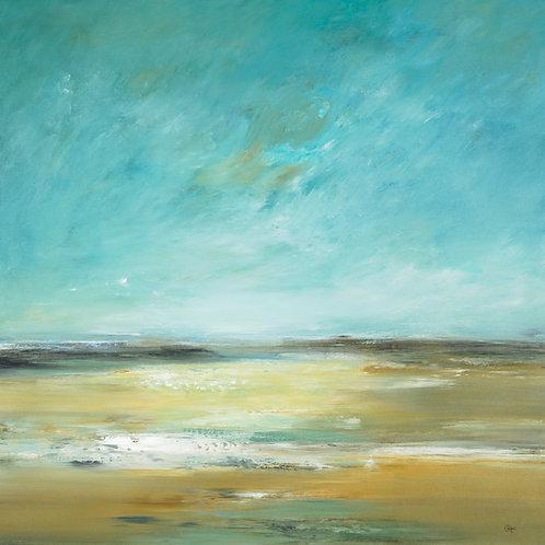 Soft Lands by Lisa Ridgers 40x40cm