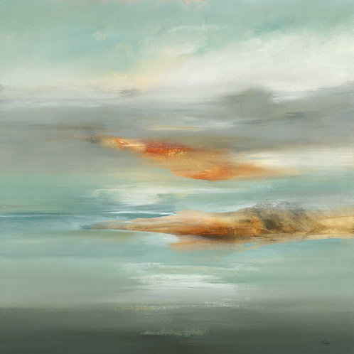 Into The Distance by Lisa Ridgers 40x40cm