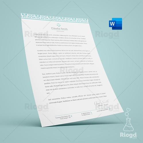 Timbrado Digital Personalizado para Advogados Oriente Dubai