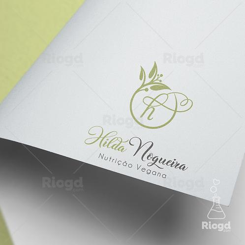 Logotipo pronto para Nutricionistas Vegan Naturale