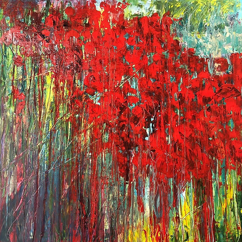 Poppies - by Jane Vaux - by commission