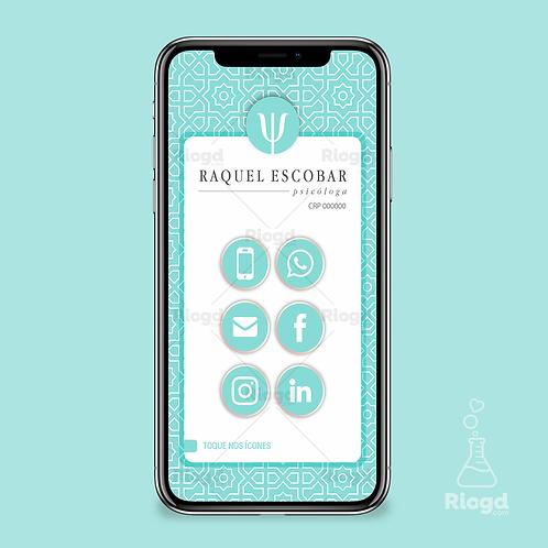 Cartão Digital Personalizado para Psicólogos Istambul