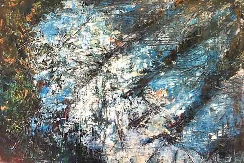 Water by Jane Vaux 61x92cm