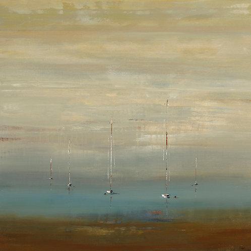 Sailor's Peace by Lisa Ridgers 50x50cm