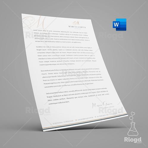 Timbrado Digital Personalizado para Advogados Elegance Milão