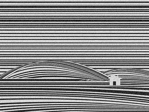 Cabin in the Hills by Rennie P 40x50cm