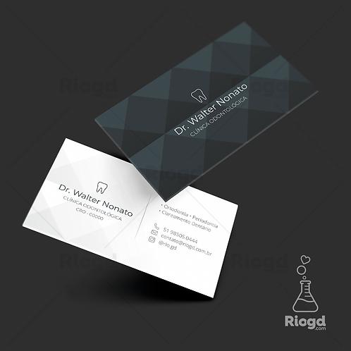 Cartões de Visita Impressos - Coleção Lux