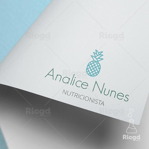 Logotipo pronto para Nutricionistas Tropical Bali