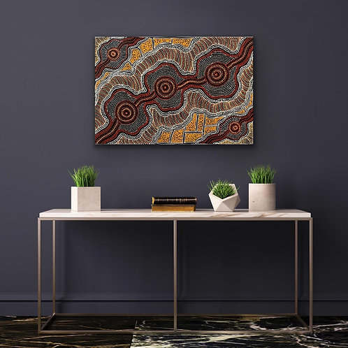 Emu Dreaming Sharon Numina 60x89cm