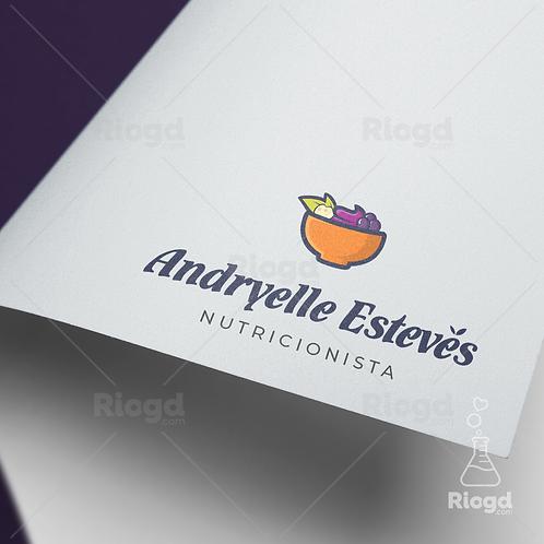 Logotipo pronto para Nutricionistas Nutripop Açaí