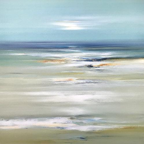 Beachside Afternoon by Lisa Ridgers76x76cm