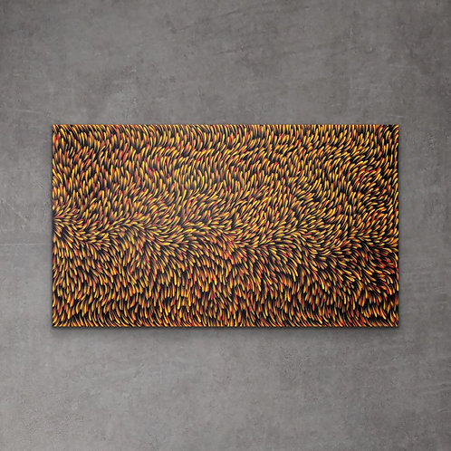 Bush Medicine Leaves, Gloria Petyarre 152x90cm