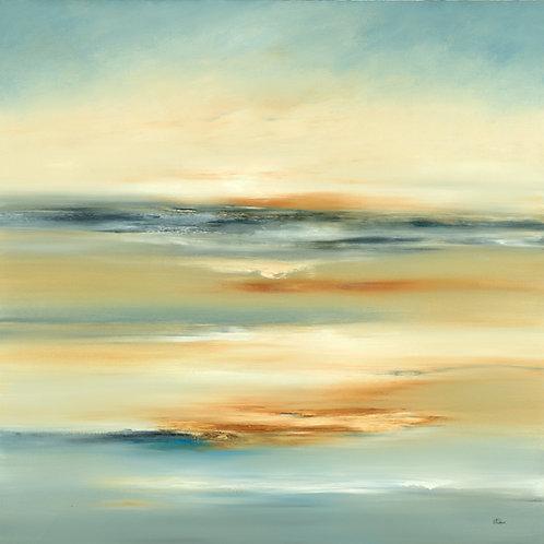 Brighter Land by Lisa Ridgers 40x40cm