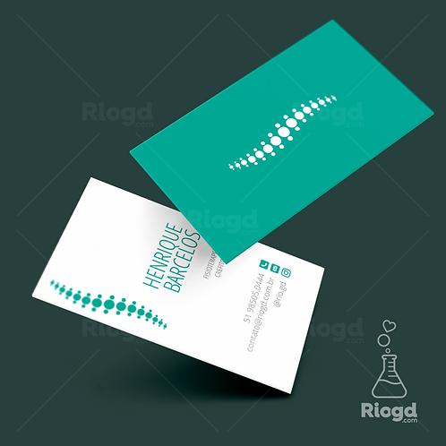 Cartão de Visita - Fisioterapia - Physio - Green