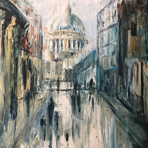 St Pauls Street Jane Vaux - by commission