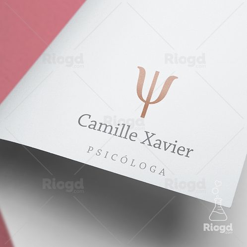 Logotipo pronto para Psicólogas Flowers Fleur