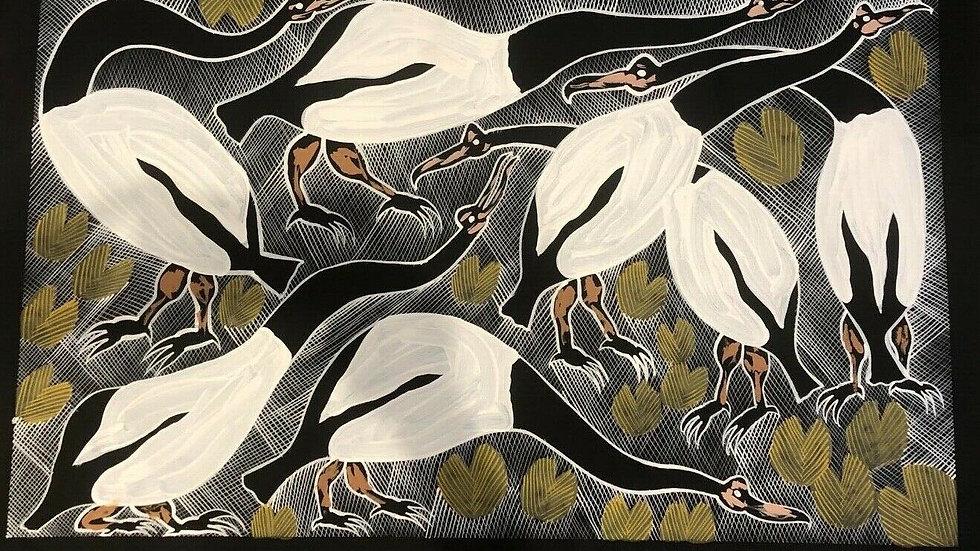 Eddie Blitner, Magpie Geese