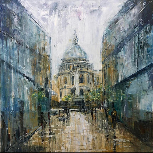St Pauls - by Jane Vaux - by commission