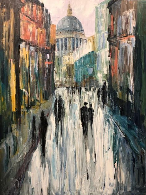 Memories of St. Pauls Cathedral by Jane Vaux