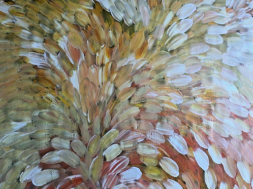 Bush Medicine Leaves, Louise Numina 147x95cm