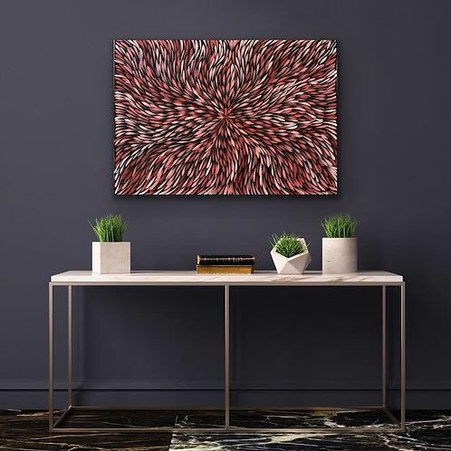 Bush Medicine Leaves, Sharon Numina 67x98cm