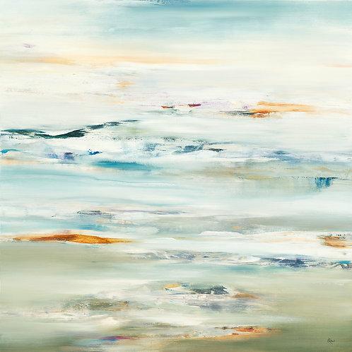 Meditate by Lisa Ridgers 50x50cm