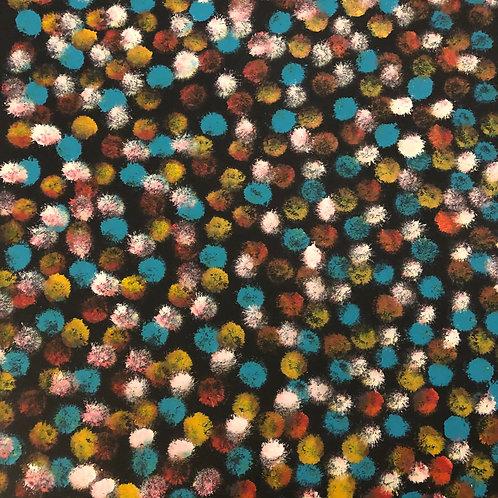 Desert Flowers by Lanita Numina 108 x 86cm