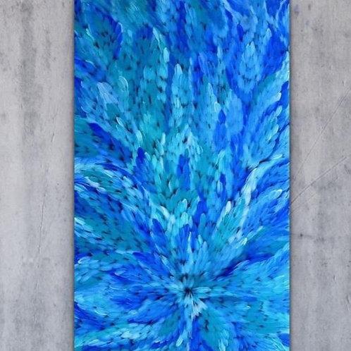 Bush Medicine Leaves, Caroline Numina 160x100cm