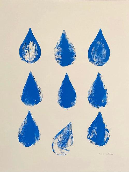Raindrops by Rennie P 70x50cm