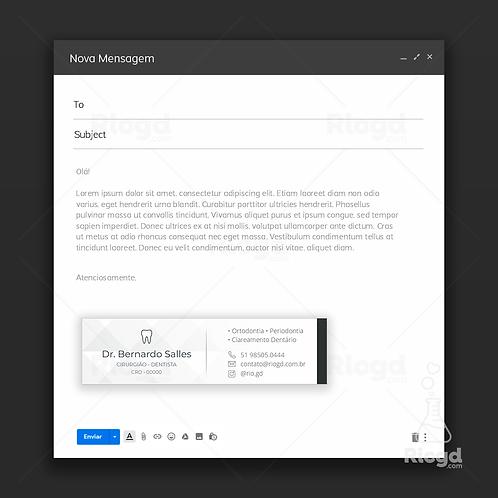 Assinatura de E-mail - Coleção Lux