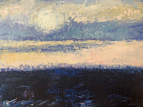 London Skyline by Jane Vaux