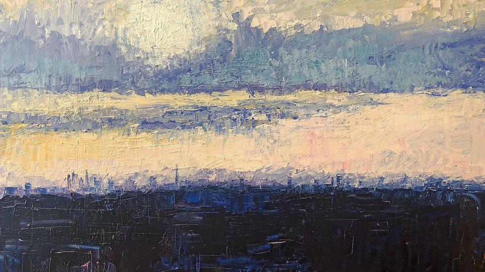 London Skyline by Jane Vaux