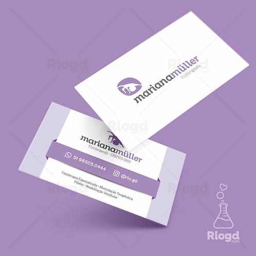 Cartões de Visita Impressos - Coleção Equilíbrio