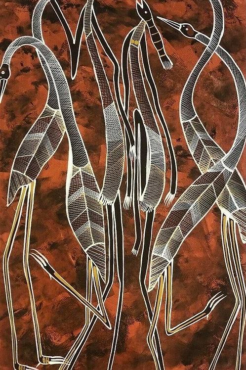 Eddie Blitner, Mimi Spirits 112x68cm