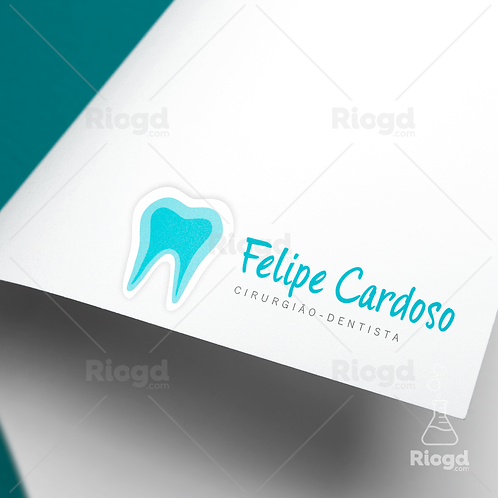 Logotipo pronto para Dentistas - Especial Blue