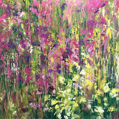 Flowers III - by Jane Vaux - by commission
