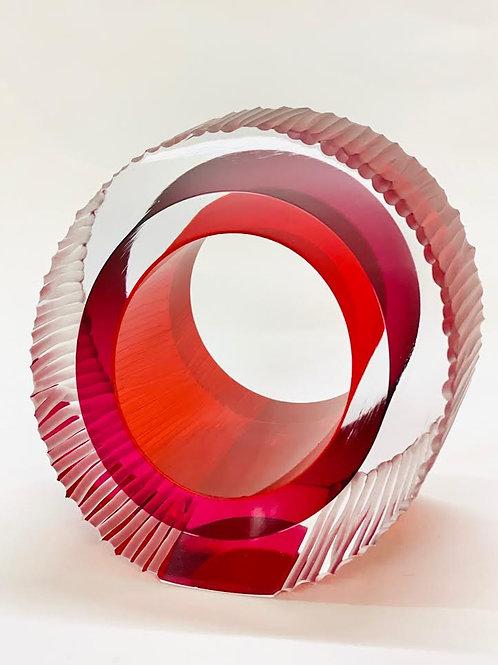 Small Cut Glass ruby by Graeme H