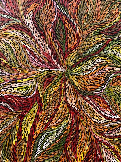 Bush Medicine Leaves, Jeannie Petyarre