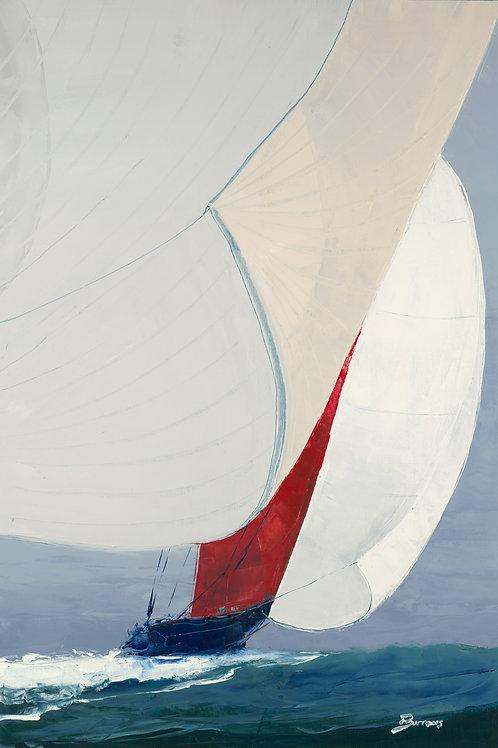 Chutes Up by John Burrow 40x30cm