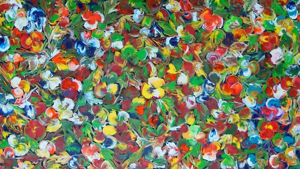 Wild Bush Flowers by Tess M