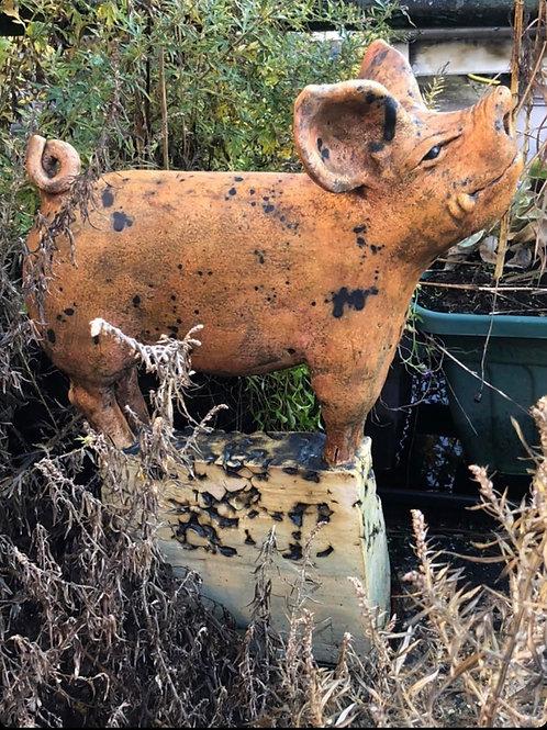 Pig, Ceramics, Jon D POA