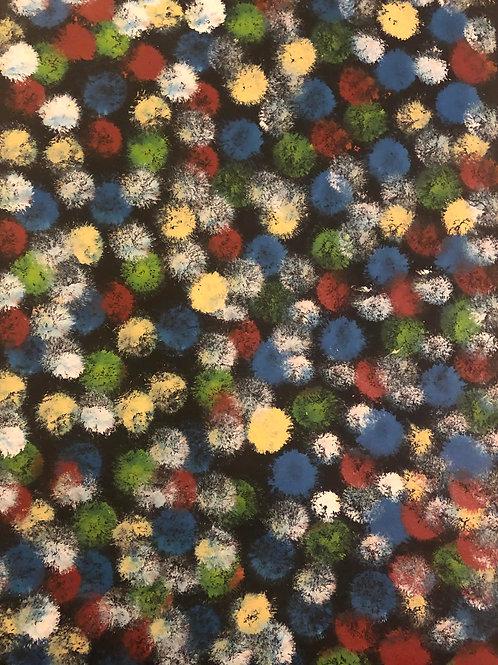 Desert Flowers, Lanita Numina 135x60cm