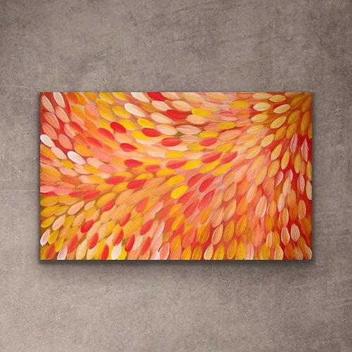 Medicine Leaves, Gloria Petyarre 153x96cm