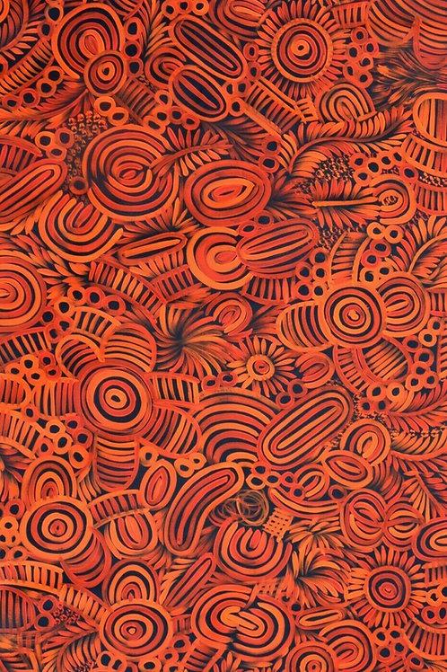 Body Lines, Selina Numina 150x90cm