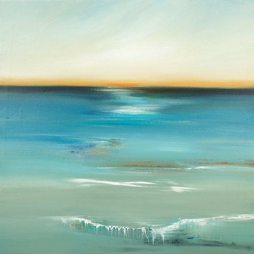 Sun & Splash by Lisa Ridgers 50x50cm