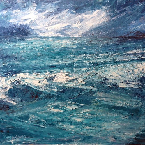Seascape - by Jane Vaux - by commission